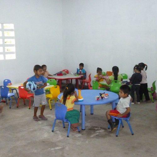 Construcción de la escuela de Cafe Eleta 14