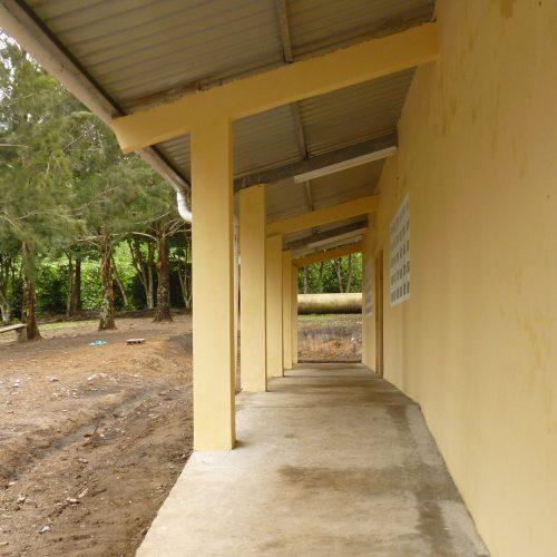 Construcción de la escuela de Cafe Eleta 15
