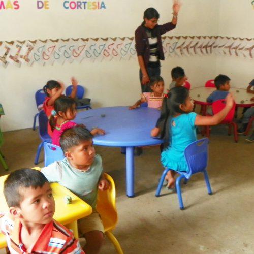 Construcción de la escuela de Cafe Eleta 8